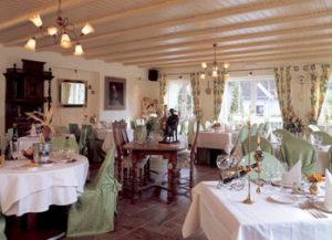 Resturant Lindenhof Weywertz Innen